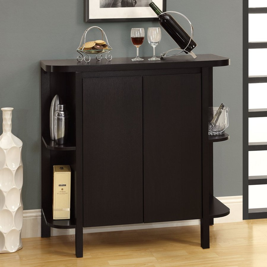 2 Door Plain Bar Cabinet