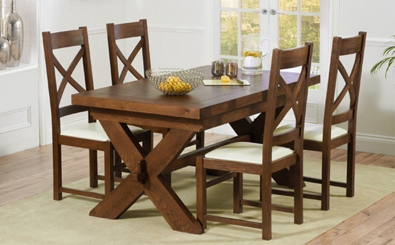 Xu0027 Leg Walnut Dining Table